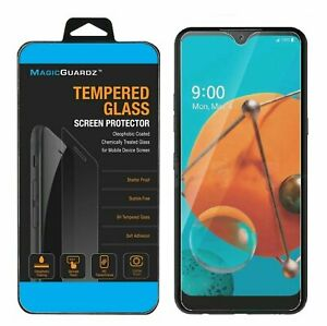 MagicGuardz® Clear 9H Tempered Glass Screen Protector For LG K51 / LG Reflect