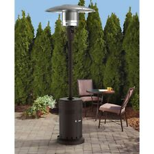 🔥Mainstays Large Outdoor Patio Heater Powder Coat Brown, Propane FREE SHIP 🚨