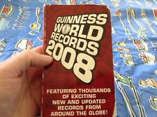 paperback book edition of the 2008 Guinness Book of World Records