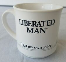 Office Humor Coffee Mug Recycled Paper Products Liberated Man Get My Own Coffee