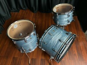 Ludwig drums sets Legacy Classic Mahogany Vintage Blue Oyster Fab kit 13, 16, 22