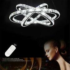 48W-96W LED Kristall Hängeleuchte Kronleuchter Pendelleuchte Deckenlampe Dimmbar