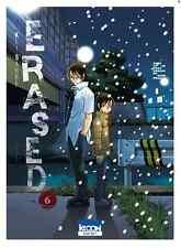 manga Erased Tome 6 Seinen Kei Sanbe Ki-Oon ! AD Astra Thriller Fantastique VF