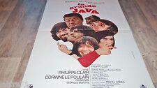 les charlots  LA GRANDE JAVA  !  affiche cinema 1970