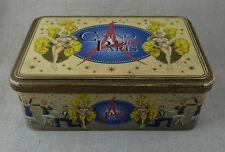 Boite en tôle lithographiée MASSILLY Casino de PARIS Décor de danseuses