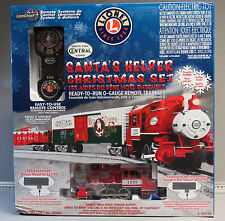 LIONEL SANTA'S HELPER LIONCHIEF REMOTE CONTROL COMPLETE TRAIN SET 6-82545 NEW