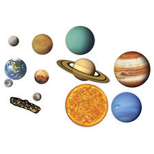 Kids 13pc Magnetic Solar System Planets Play Learn Children Toy White Board New