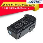 JJRC 11.4V 1000mAh LiPo Battery  for JJRC X9 Heron Brushless RC Drone Quadcopter
