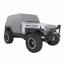 Smittybilt Water-Resistant Cab Cover with Door Flaps (Gray) - 1061