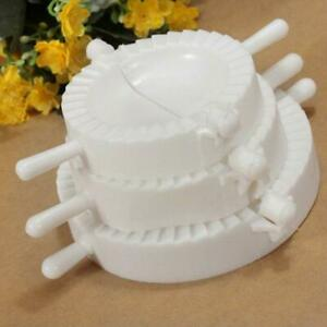 Dumpling Maker Press Machine Turnover Mould Dough Mold Ravioli Pastry FI
