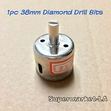 1 pc 38mm Diamond Coated tool drill bit hole saw glass ceramic marble granite