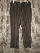 "St Johns Bay Stretch Multicolored Corduroy Capris sz 10 W:30"" H:42"" R:11"" I:27"""