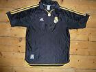REAL MADRID SHIRT large 1999 AWAY FOOTBALL JERSEY maglia calcio trikot camiesta
