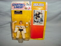 Starting Lineup Tom Barrasso 1994 Action Figure w/ Card SLU Kenner NHL Penguins