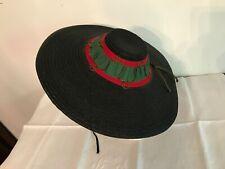 Superbe et ancien chapeau provençal /Nice de femme, en paille
