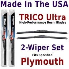 Buy American: TRICO Ultra 2-Wiper Blade Set fits listed Plymouth: 13-16-16