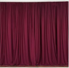 Backdrop drape wedding party stage decoration fabric curtains  14 colors 10ft
