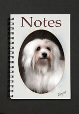 Coton de Tulear Dog Notebook with small image on every page By Starprint