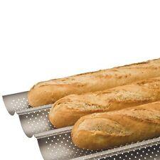 Plaque Moule Grille de cuisson 4 baguettes Pain Tuile Anti-adhésif  Four