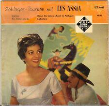 """LYS ASSIA """"SIGNORE"""" POP 50'S EP TELEFUNKEN 4898"""