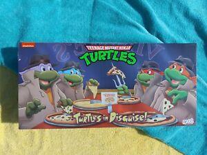 NECA Teenage Mutant Ninja Turtles: Turtles in Disguise Action Figure Playset (4…