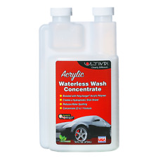 Waterless Wash Concentrate 16oz = Gallons No Scratch Eco Safe Detail Spray
