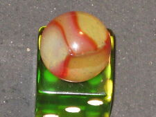 Very Shiny In Hand Butterscotch Opal Vintage Peltier Glass Marble Marbles 19