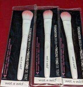 3 lot wet n wild Foundation Brush