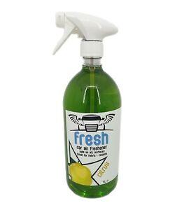 Car Air Freshener  Valeting Concentrate 1L Bottle Citrus Scented