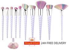 Unicorn Thread Make Up Brushes Set Face Concealer Foundation Powder Blusher 10pc