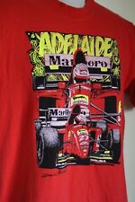 Vintage 1995 Adelaide Grand Prix size M South Australian made Jean Alesi RARE