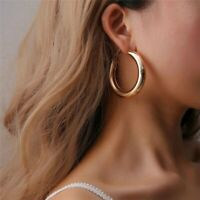 New Tendy Hoop Drop Dangle Earrings Round Minimalist Statement Party Jewellery
