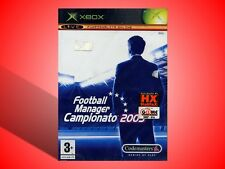 FOOTBALL MANAGER CAMPIONATO 2005  XBOX NUOVO SIGILLATO! VERSIONE ITALIANA!