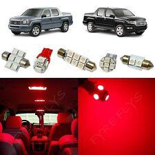 17x Red LED lights interior package kit for 2006-2013 Honda Ridgeline HR1R