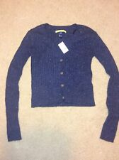 Women's Sweater Button Up Xs Prince And Frog Blue New Nwt 49.95
