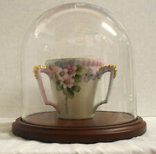 """NEW 8-1/8""""W x 8-1/2""""H  Glass Dome with Wood Base (GLD-88)"""