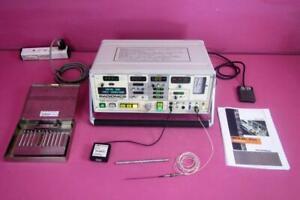 Radionics RFG-3C PLUS Radio Frequency RF Lesion Generator & Rhysolysis Electrode