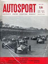Autosport puede 2nd 1958 * * Bentleys en Monza