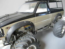 Rubber Fender Flares Set Tamiya RC 1/10 Toyota 4x4 Pick up Mountain Rider RC4WD