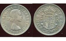 ROYAUME UNI - GREAT BRITAIN half crown   1962  ( ca )