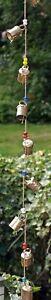 11 Vintage Bells Decorative String Indian Door Wall Hanging Chimes 100 cm Length