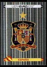 Panini Euro 2012 (Swiss Platinum Edition) Badge (Spain) No. 282