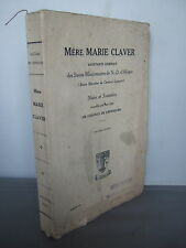 1928 Mere Marie Claver - African Missionary - Illustrated