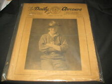 1929 World Jamboree Lot of 11 copies of The Daily Arrowe newspaper