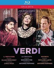 Verdi: Il Trovatore / La Traviata / Macbeth [New Blu-ray]