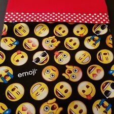 Embroidered Personalized STANDARD Pillowcase Emojis
