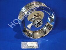 Harley softail fxst fxstb fxsts chrome rear wheel rim 17 x 6 3/4       41647-06