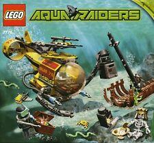 NEW Lego Aqua Raiders #7776 The Shipwreck SEALED