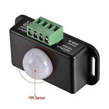 Automatic DC 12V-24V 6A PIR Motion Sensor Switch For LED Light Strip Adjustable