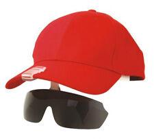 Hat Clipped Sports Sunglasses Fishing Biking Hiking Golf Ski Baseball Cap Dark